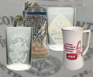 Mugs, Glasses, & Steins